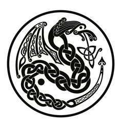 Celtic national ornaments vector
