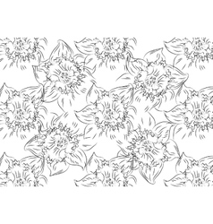Flower Hand drawn sketch tutsan hypericum vector image vector image