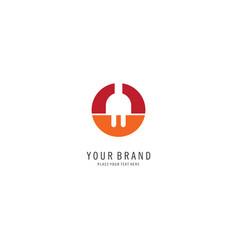 plug icon logo vector image
