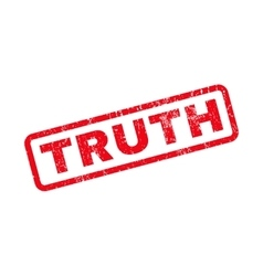 Truth Rubber Stamp vector image