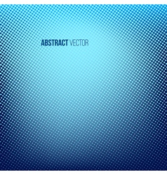 Blue abstract halftone background vector
