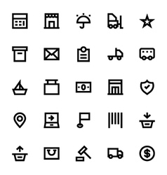 Shipping and delivery icons 2 vector