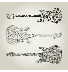 Guitar8 vector image