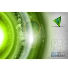 Green Universe vector image vector image