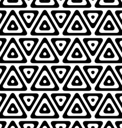 Black and white triangles in row vector