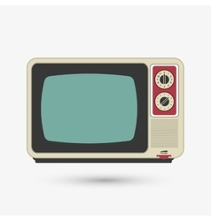 Television icon design vector image