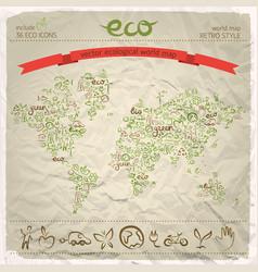 environmental design concept vector image