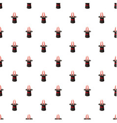 Magic hat pattern vector