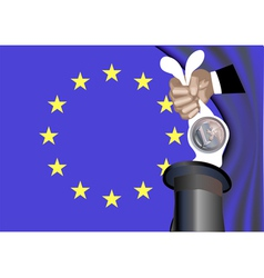 magic rabbit vector image vector image