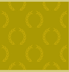 yellow wheat seamless pattern vector image