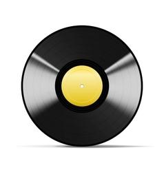 Black vinyl vector
