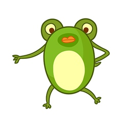 A view of tree frog vector