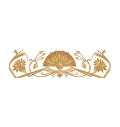 Ancient egyptian ornament vector