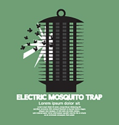 Electric mosquito trap vector