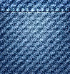 Blue Jeans Texture vector image vector image