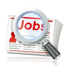 Job search vector