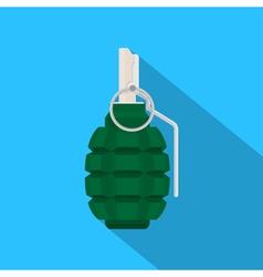 grenade vector image