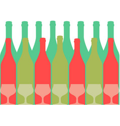 Design for wine color vector