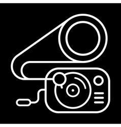 gramophone clip art vector image vector image