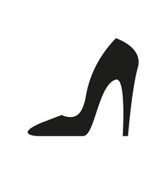 heel black icon vector image