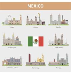 Mexica set vector