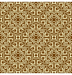 seamless ornament vector image