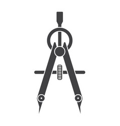 Compass drawing tool vector