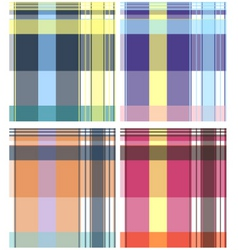 Check pattern collection vector