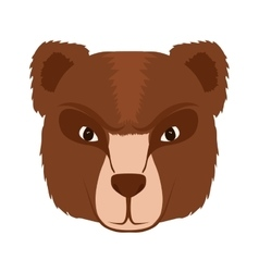 Bear cartoon icon animal design graphic vector