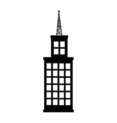 Tower building real estate vector