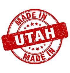 Made in utah vector