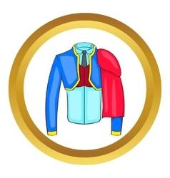 Spanish matador suit icon vector