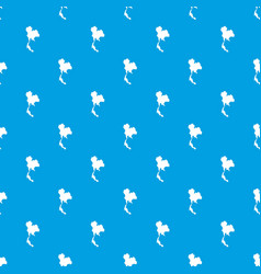 Thailand map pattern seamless blue vector