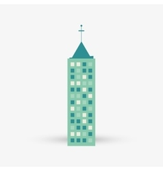 City design building icon isolated vector