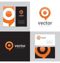 logo design element 02 vector image vector image