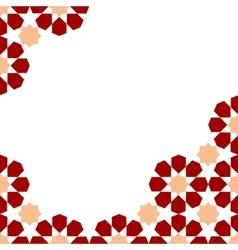 moroccan zellige template vector image vector image
