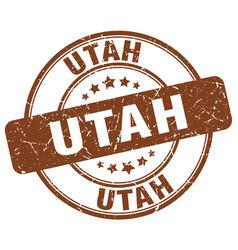 Utah stamp vector