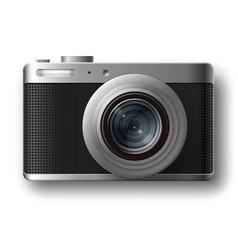 compact photo camera vector image