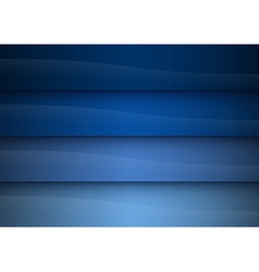 Background blue stripe reflect vector