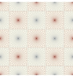 Spirograph seamless pattern vector image