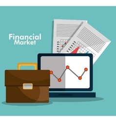 Financial market statistics vector