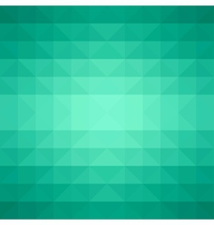 Abstract green triangle background vector