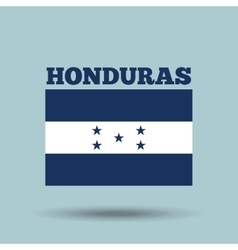 Honduras country flag vector