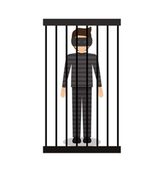 Isolated guilty design vector image vector image