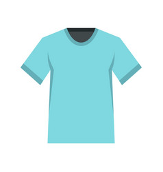 men tennis t-shirt icon flat style vector image vector image