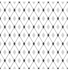 seamless geometric hipster pattern monochrome vector image vector image