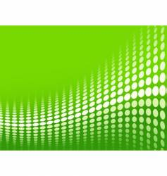 Green halftone background vector