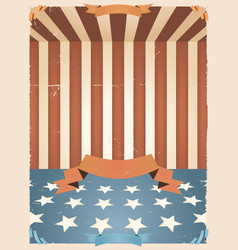 american holidays background vector image vector image