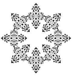 Artistic ottoman pattern series seventy five vector
