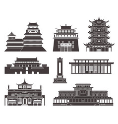 East asia vector
